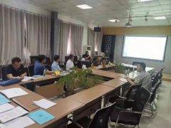 热烈欢迎丰县湖西片区PPP项目部来公司指导工作