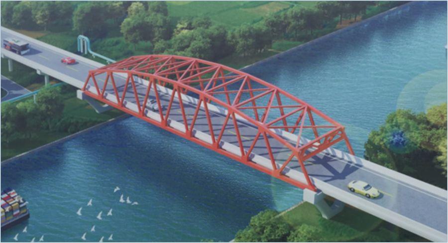 中国建成非洲最长悬索桥