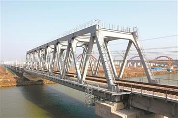 宣杭96米钢桁梁